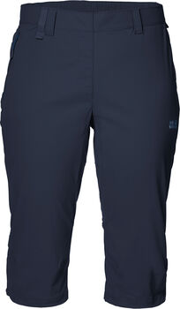 Jack Wolfskin Activate Light 3/4 Wanderhose Damen blau