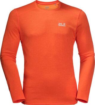 Jack Wolfskin Sky Range Langarmshirt Herren orange