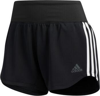adidas 3-Streifen WVN GYM Shorts Damen schwarz