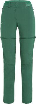 Salewa Pedroc Durastretch Zip Off Wanderhose Damen grün