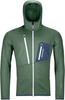 ORTOVOX Fleece Grid Fleecejacke Herren grün
