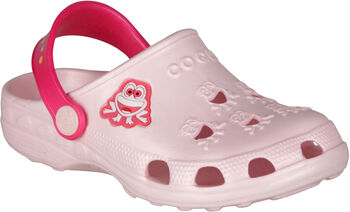 Coqui Little Frog Clog pink