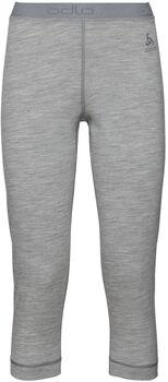 Odlo Bl Bottom 3/4 Natural 3/4 Unterhose Damen grau