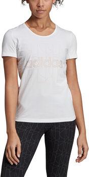 ADIDAS Motion T-Shirt Damen weiß