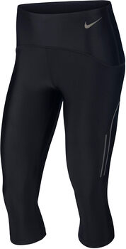 Nike Speed 3/4 Tights Damen schwarz