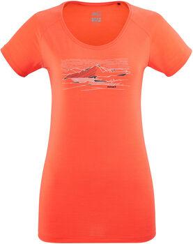 Millet Geo T-Shirt Damen orange
