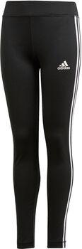 adidas 3-Streifen Tights Mädchen schwarz