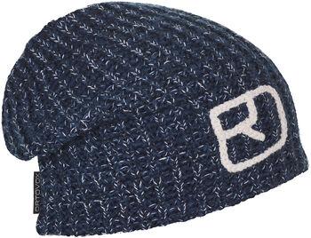 ORTOVOX Melange Mütze blau