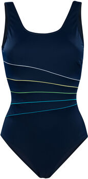TECNOPRO Badeanzug Freni B/C-Cup Damen blau