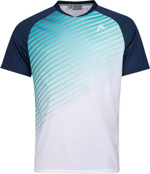 Head Performance T-Shirt Herren blau