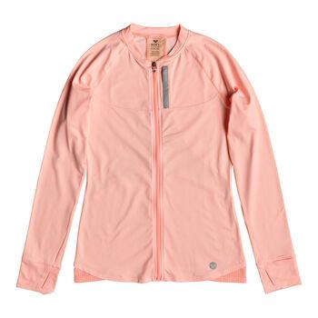 Roxy Purple Sky 2 Fleece Trainingsjacke Damen orange
