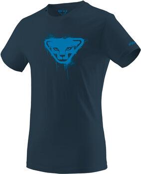 DYNAFIT Graphic Cotton T-Shirt Herren blau