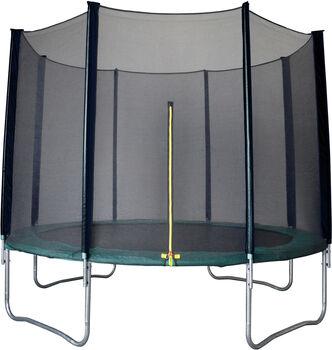ENERGETICS Outdoortrampolin 4,2m im Set mit Sicherheitsnetz grün