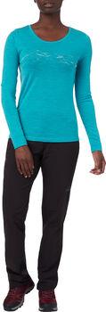 McKINLEY M-TEC Curra Langarmshirt Damen blau