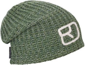 ORTOVOX Melange Mütze grün