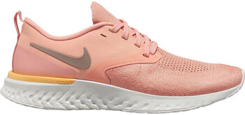 Nike Odyssey React Flyknit 2 Laufschuhe Damen pink
