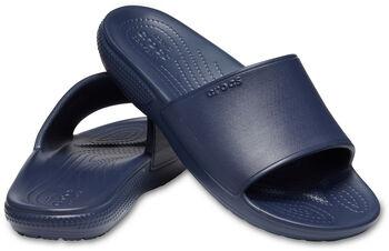 Crocs Classic II Slide Badeschuhe Herren blau