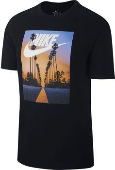 Nike Nsw Tee Sunset Palm Herren schwarz