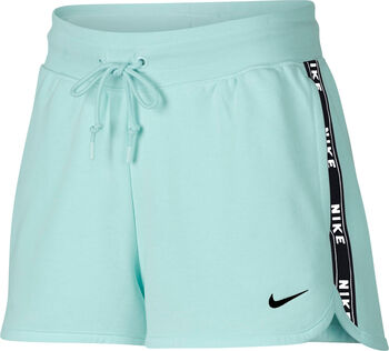 Nike Nsw Short Flc Logo Short Damen grün