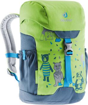 Deuter Schmusebär Kinderrucksack grün