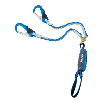 CAMP Kinetic Gyro RewindPro Klettersteigset blau