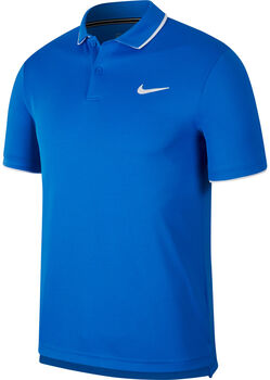 Nike Court Dri-Fit Poloshirt Herren blau