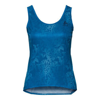 Odlo Zeroweight SUW Top Damen blau