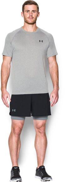 Qualifier 2-in-1 Kompressions-Shorts