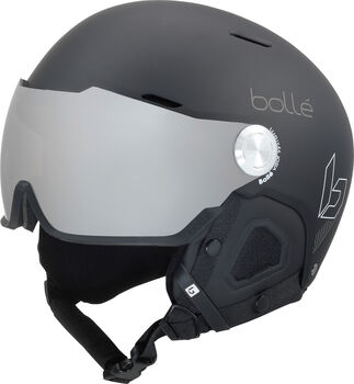Bollé Might Visor Skihelm schwarz