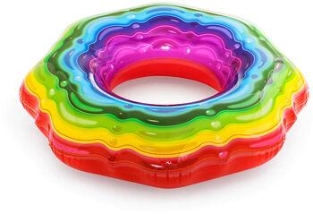 Bestway Rainbow Schwimmring transparent