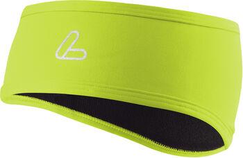 LÖFFLER Stirnband Mono Flaps grün