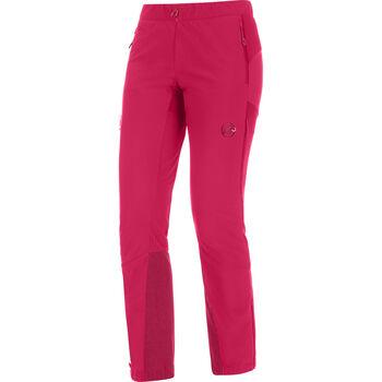 MAMMUT Botnica Softshell-Hose kurzgestellt Damen pink