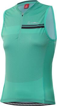 LÖFFLER Pace Radtrikot mit Halfzip Damen grün