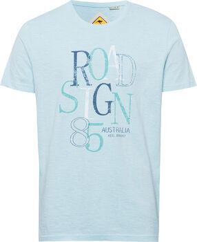 Roadsign 85 T-Shirt Herren blau