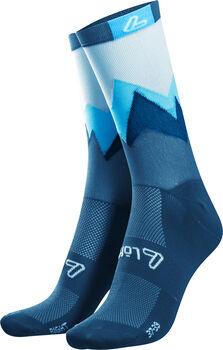 LÖFFLER Style Laufsocken blau