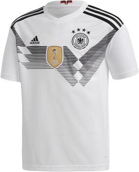 adidas Deutschland 2018 Heimtrikot cremefarben