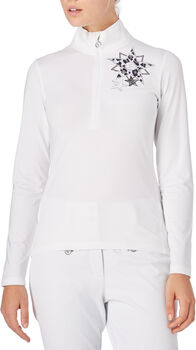 McKINLEY Donya Langarmshirt Damen weiß