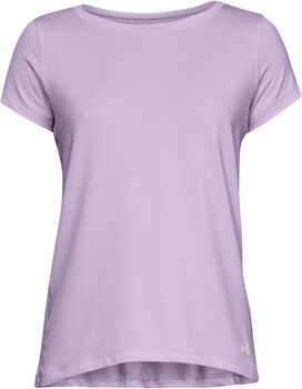 Under Armour HG Armour SS T-Shirt Damen lila