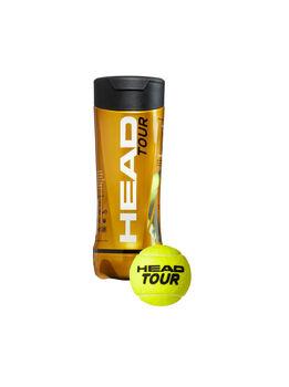 Head  TourTennisball, 3er Dose gelb