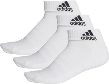 adidas Essentials Cushioned Knöchelsocken 3er-Pack weiß