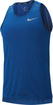 Nike M Nk Dry Cool Miler Lauftank Herren blau