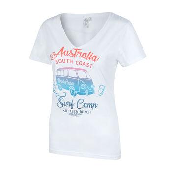 Roadsign Shirt Sunshine Damen weiß