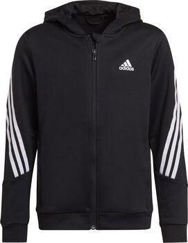 adidas B AR 3S Trainingsjacke mit Kapuze schwarz
