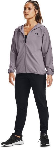Woven Hooded Trainingsjacke