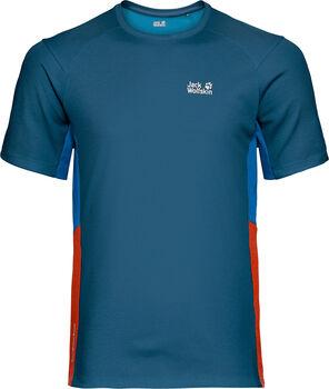 Jack Wolfskin Narrows Sky Synethic Fiber T-Shirt Herren blau