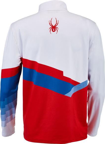Mandate Zip T-NeckHr. T-Shirt L/S m.1/2 Zip