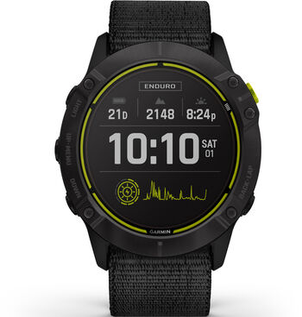 Garmin Enduro GPS Multisportuhr schwarz