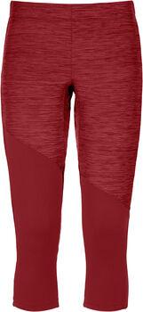 ORTOVOX Fleece Light 3/4 Unterhose Damen rot