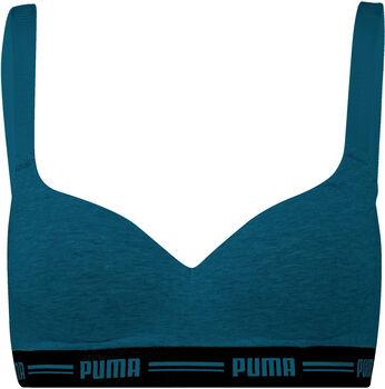 Puma Padded Top BH Damen blau