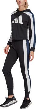 adidas Sportswear Badge of Sport Trainingsanzug Damen schwarz